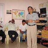 Demonstration of Amateur Radio Satellite communication to Mr Annadurai and Mr Raghavamurthy - DSC00139.JPG