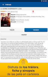 Cinesa: Cartelera de películas- screenshot thumbnail