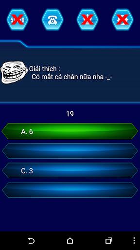 Tải Trò chơi ai là thánh troll - hỏi ngu (apk) cho điện thoại