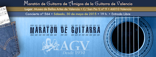 Maratón de Guitarra de Amigos de la Guitarra de Valencia