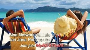 Buit duit affiliate dari rumah dengan myBESTeam