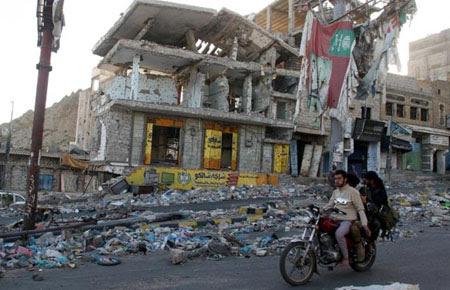 Tiga ledakan bom menghantam kota Aden, Yaman