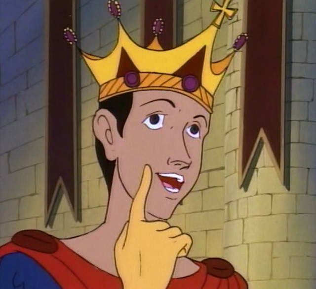 Eric with crown