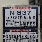 Panneaux Michelin : Seine-et-Oise