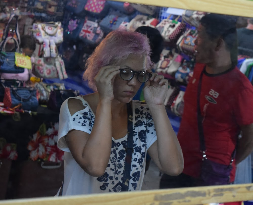 browsing in the night market in Pattaya