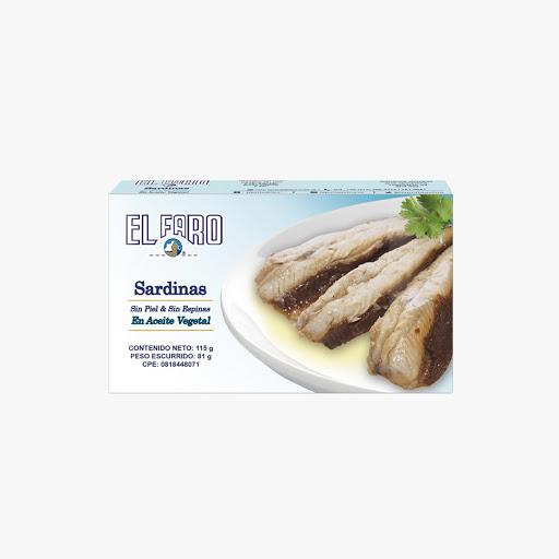 sardina el faro sin piel y espina 110gr