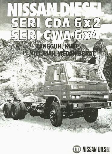 Mengenal Truck UD Nissan Diesel Condor Multi Wheeler 6x2 - 6x4
