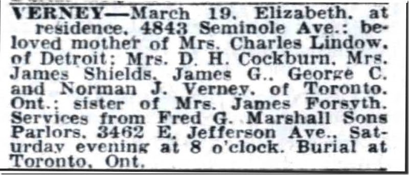 Copy of VERNEY_Elizabeth_obit_DFP_20 Mar 1948_pg 16