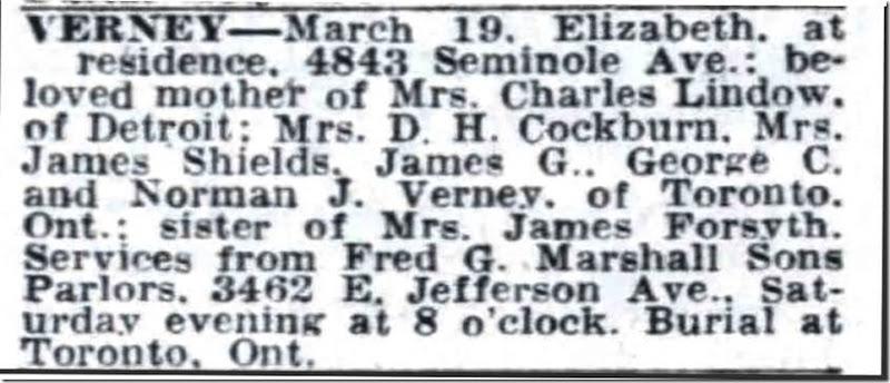 Copy of VERNEY_Elizabeth_obit_DFP_20 Mar 1948_pg 16