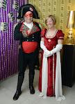 Napoleon met echtgenote Napoleon met echtgenote
