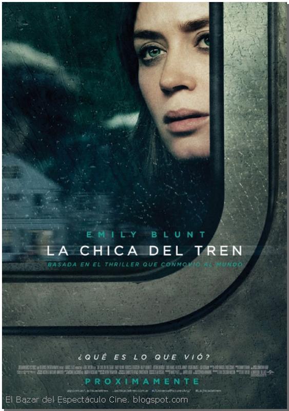 Resultado de imagen para la chica del tren afiche