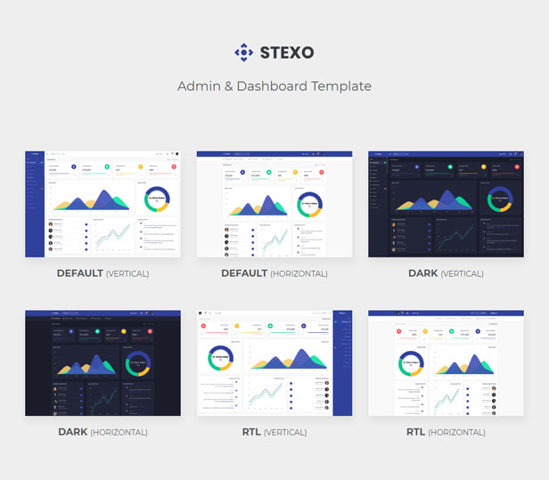 Stexo - Admin & Dashboard Template - 1