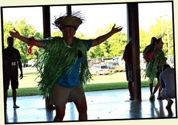 11k1- Hawaiian Luau - May 30 - Let the Games Begin - Hula Girl Relay