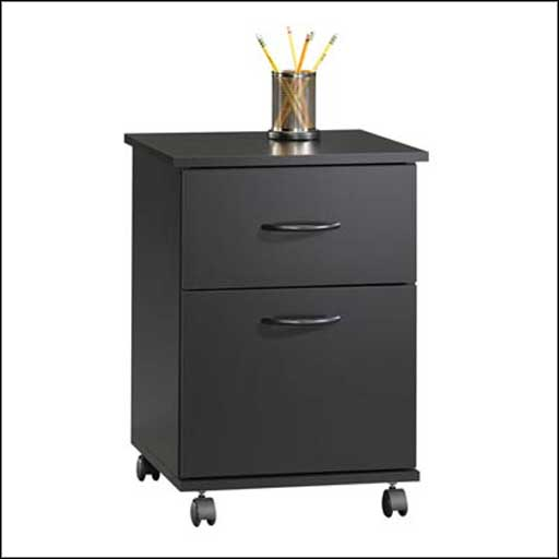 Sauder 408766 2 Drawer Metal File Cabinets