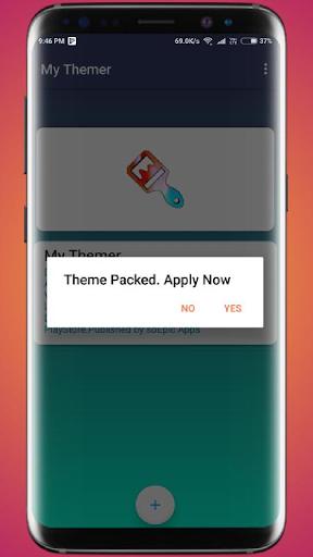 Theme Swap (My Themer) - HD Wallpapers, Dark Mode 2.8.9 screenshots 7