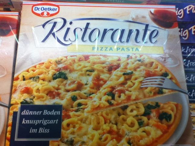 Pasta Pizza, Macaroni Pizza