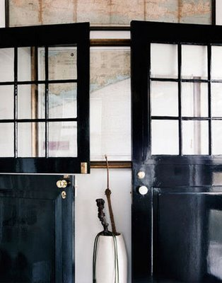 Entryway black doors foyer classic timeless appeal hardware dutch i love dutch doors and glass panes that allow light to flood into a foyer or entryway i love the vintage style pendant light rustic brick floor and wooden planetlyrics Images