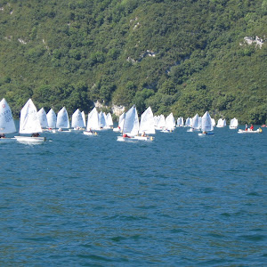 Coupe internationale Optimist à Aix les Bains