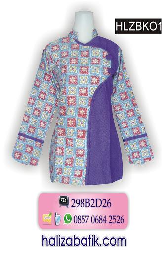 butik online, model baju batik atasan, blus batik modern