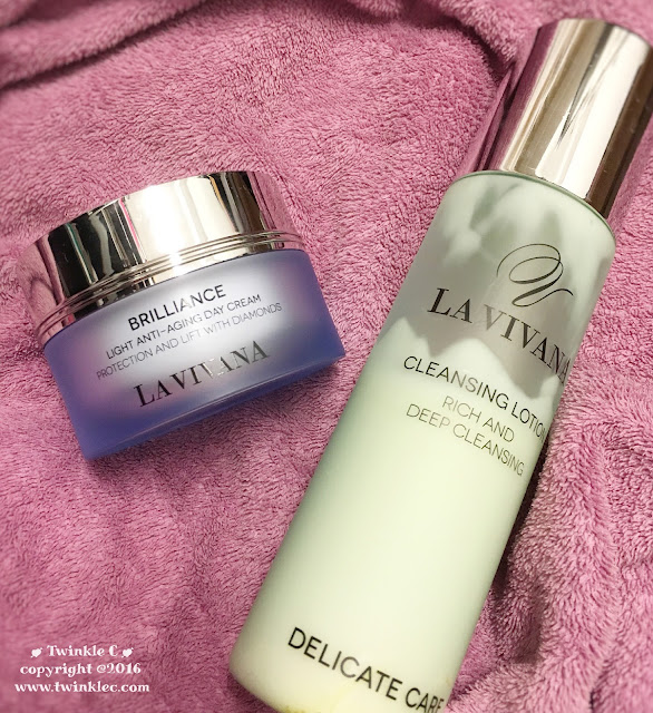 [SKIN] La Vivana 2度寒冬孖寶 Cleansing Lotion & Light Anti-Aging Day Cream ...