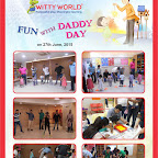 Fun with Daddy Day Celebrated at Witty World