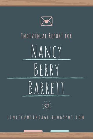 Individual Report - NBBarrett