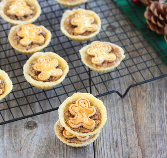 photo of mini pecan pies