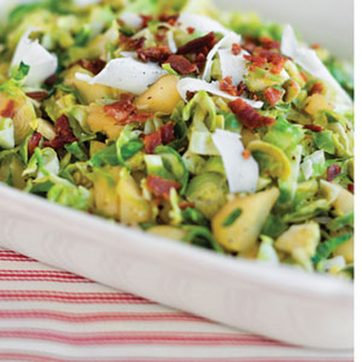 Sauteed Brussels Sprouts With Apples And Bacon Recipe ...