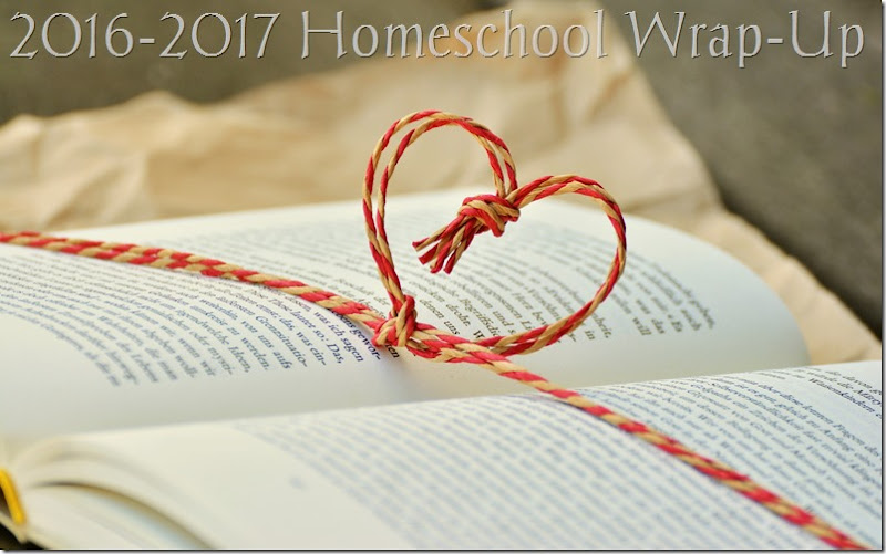 2016-2017 Homeschool Wrap-Up at Homeschooling Hearts & Minds