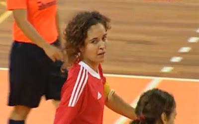 Rita Martins do Benfica faz um golo do outro mundo