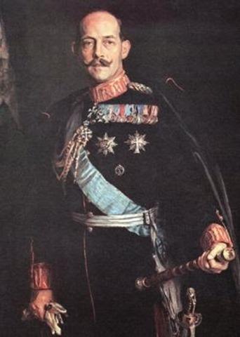 Rey Constantino I de Grecia