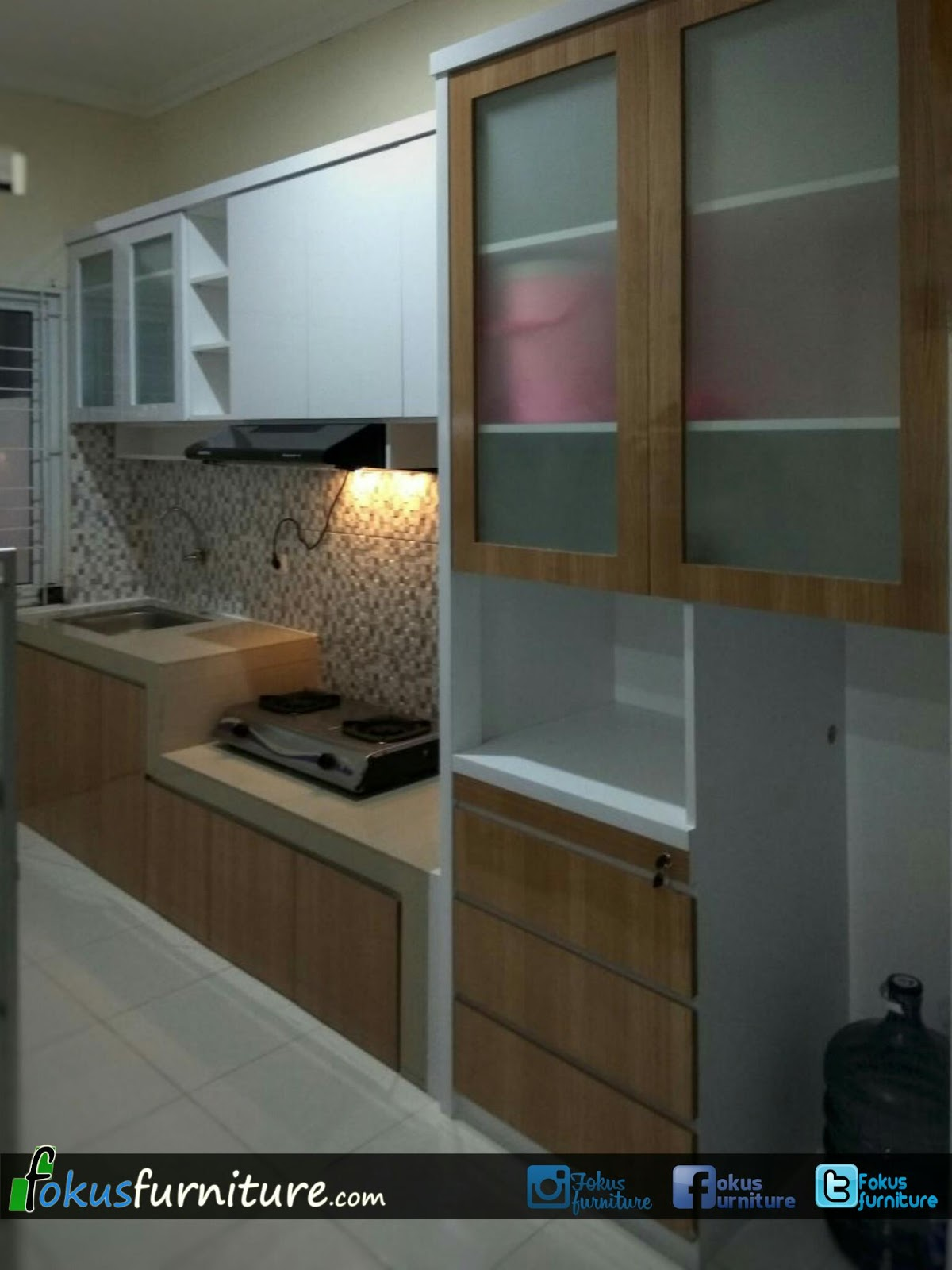 Kitchen set 2 pintu atas minimalis mutiara olympiccikiwulcluster alicanteperumahan metland