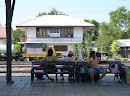 Pak Chong train station laid back relaxing sunday (after)noon
