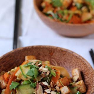 no-noodle pad Thai stir-fry.