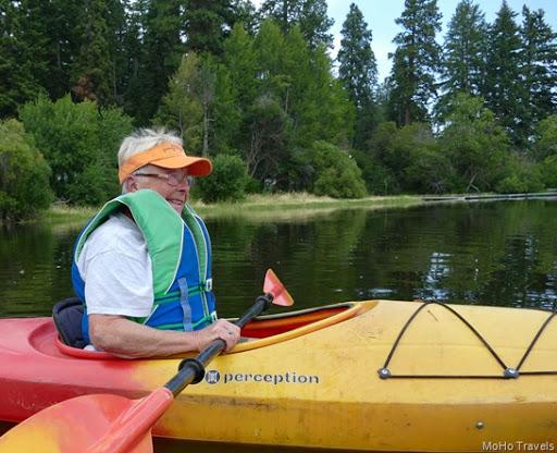 Judy kayaks Recreation Creek (1 of 1)-2