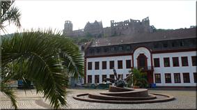 Las ruinas del castillo de los Príncipes Electores