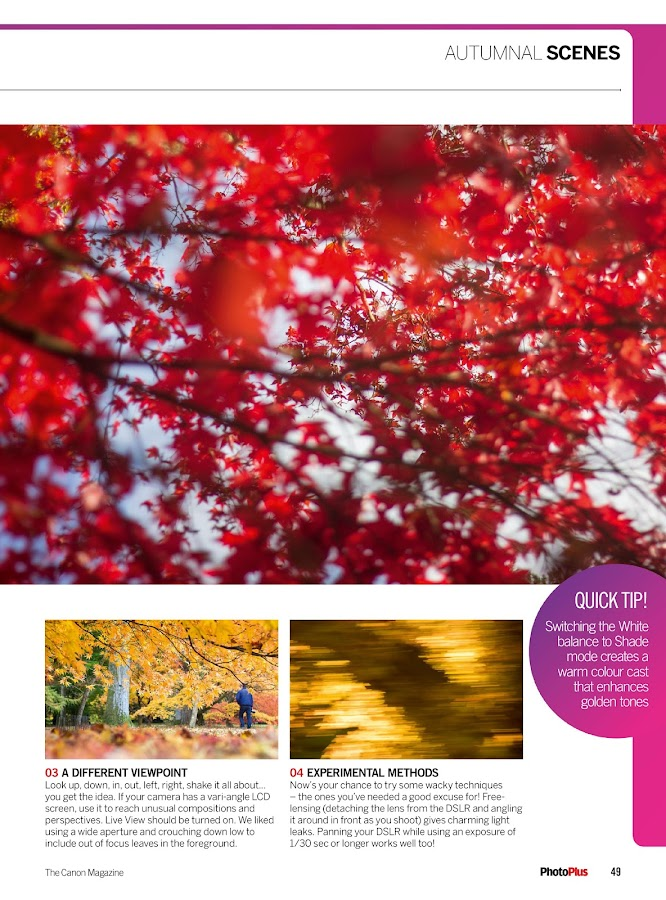 PhotoPlus: the Canon DSLR photo magazine- screenshot