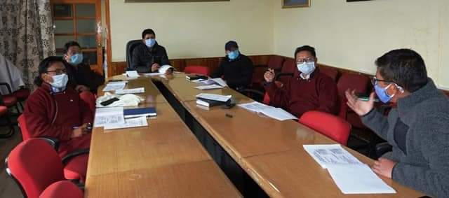 LAHDC, Leh Executive Members Discussed Capex Budget 2020-21