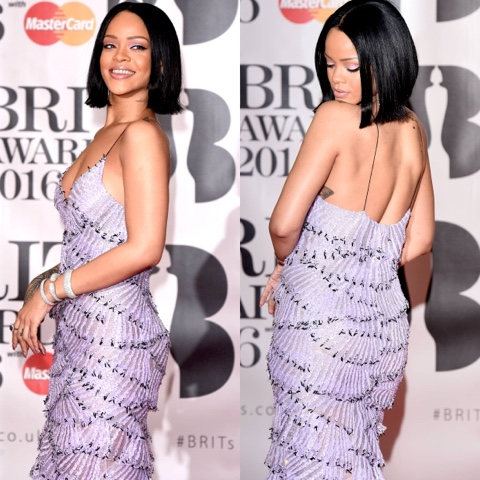 Rihanna attends The BRITS