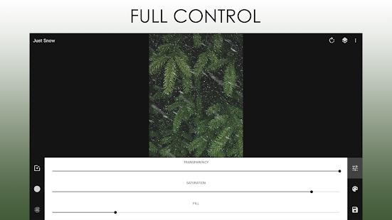 Just Snow – Foto Effekte Screenshot