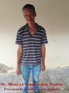 Homem procura seus familiares na região de Itaituba!!
