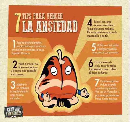 Tips para combatir y vencer la ansiedad