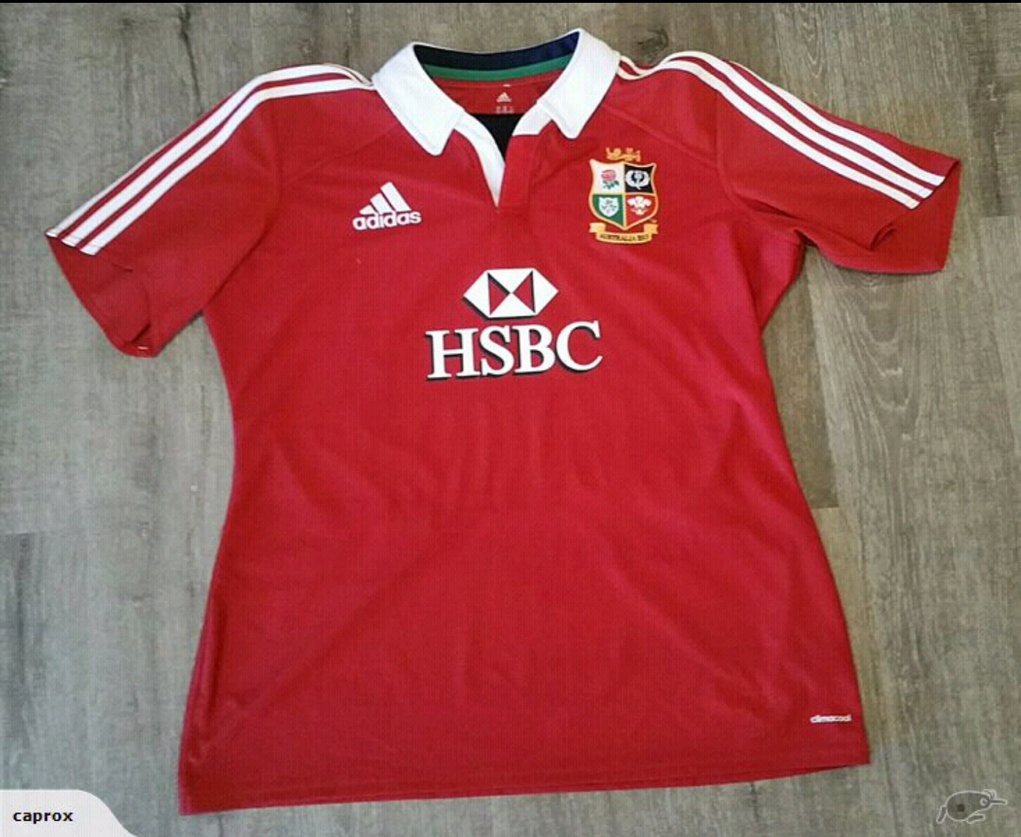 cbc6a0ac Froggy's Rugby Jerseys Collection: 2013 British and Irish Lions #18 ...