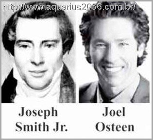 As reencarnações de Joseph Smith como Joel Osteen