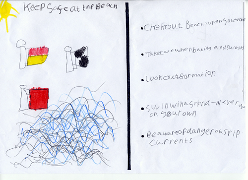 Sea safety checklist - Edward
