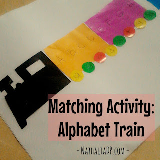 Matching Activity: Alphabet Train