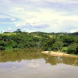 Le Rio Pará au sud de Pitangui (munic. Conceição do Pará, MG, Brésil), 20 février 2010. Photo : Nicodemos Rosa