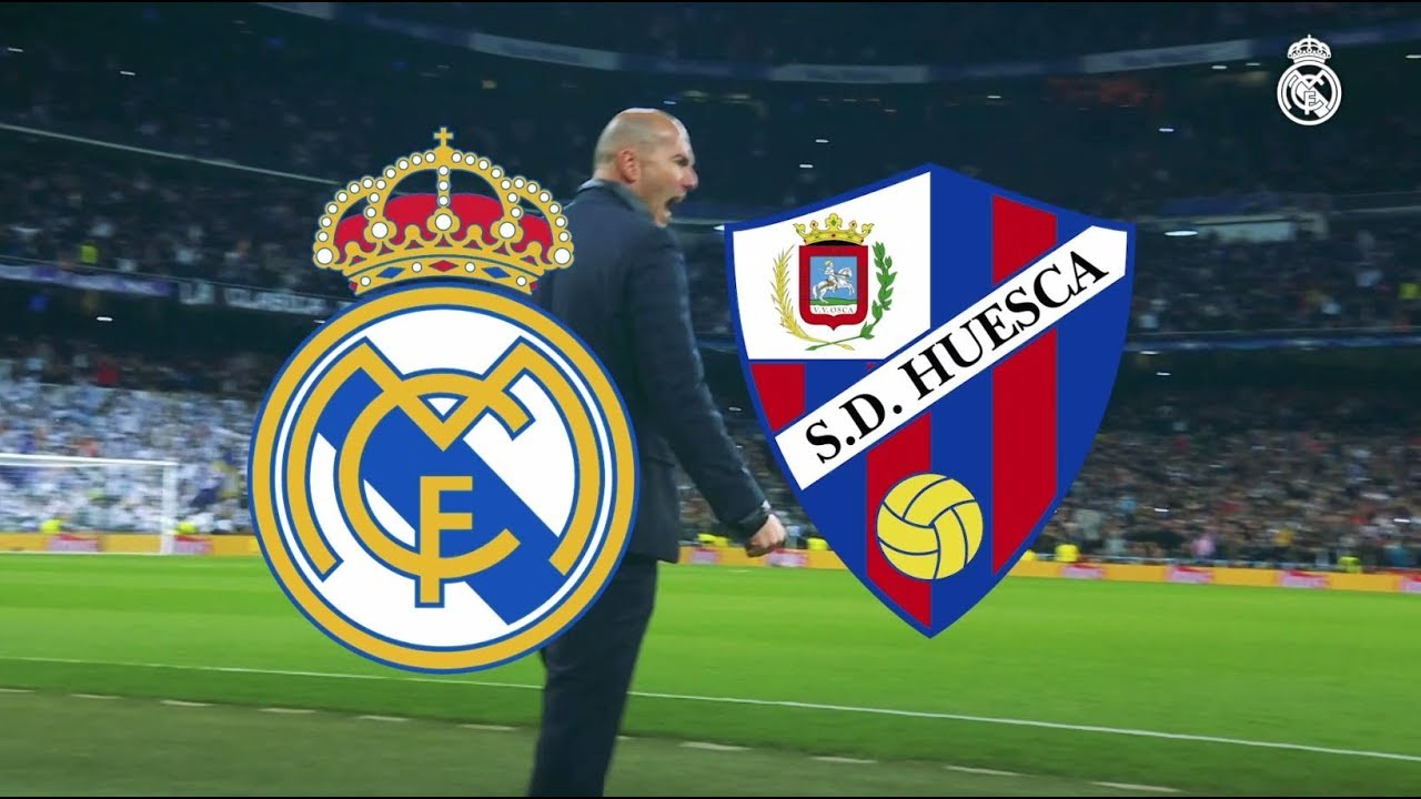 Watch Real Madrid and Huesca match broadcast live Spanish League