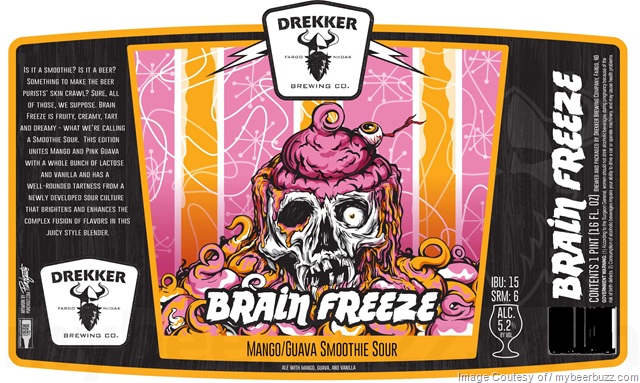 Drekker Brain Freeze Cans
