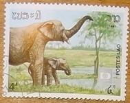 timbre Laos 013